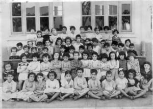 Girls' Alliance Israelite Universelle school - 1950, Rabat, Morocco